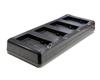 Point Mobile 4-слотовая зарядка аккумуляторов для ТСД PM60 (60-4SBC)